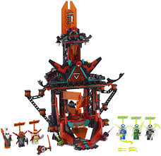 Amazon.com: LEGO NINJAGO Empire Temple of Madness 71712 Ninja Temple  Building Kit, New 2020 (810 Pieces): Toys & Games