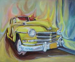 art no longer available car paintinging
