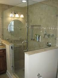 gl tub side sliding bathtub doors half shower panel