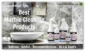 Awesome What Is The Best Product To Clean Marble Countertops