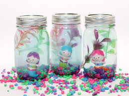 diy mermaid aquarium craft