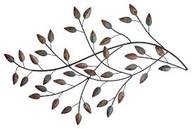 >stratton home decor blowing leaves wall decor contemporary metal  stratton home decor blowing leaves wall decor