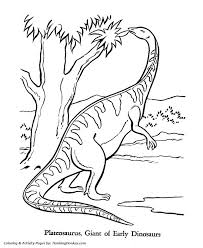 Small Picture 18 best Coloring Dinosaurs images on Pinterest Dinosaur coloring