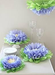 tissue paper flower centerpiece ideas girls party decorations set of 7 melon pink tissue paper flowers