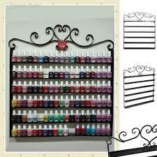 whole heart black metal nail polish display wall rack fit up to 108 bottles 29 toe nail art diy nail art from jiami 96 45 dhgate com