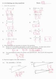 collection of quadratic formula step by worksheet