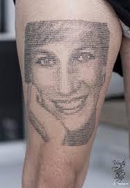 татуировки на основе компьютерного кода