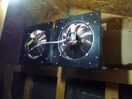 attic blower fan