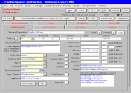 office organizer software. Freedom Organizer PIM: From Software Office