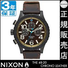 rosy cats rakuten global market nixon watch review quo card nixon watch review quo card 5000 yen ★ na3632209 nixon 48 20 chrono leather