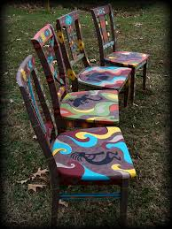 hand painted furnitureReincarnations Painted Furniture  Home