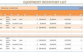 ms excel inventory template equipment material stock inventory template excel exceltemp