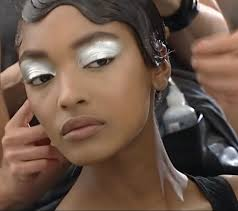 jourdan dunn melbourne fashionwinter makeuprunway