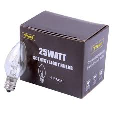 Night Light Wax Warmer Bulbs Yyout 25 Watt 120v Replacement Light Bulbs For Scentsy Plug
