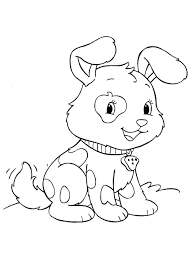 bright ideas puppy coloring page printable cute puppies pages to print