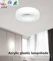 De Circulaire Led Plafond Lampen Ijzer Kleine Slaapkamer Lamp Acryl