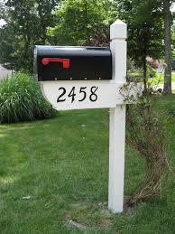 mailbox post ideas. Thompson Post Mailbox Ideas