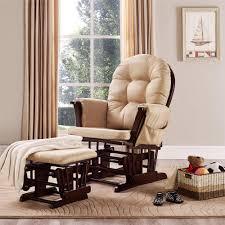 baby relax glider rocker and ottoman beige