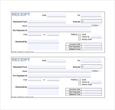 Sales Receipt Template Free Onlineblueprintprinting