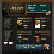 Free Template 086 Book Store