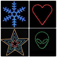 christmas rope lighting. 150-039-LED-Rope-Light-110V-2-Wire- Christmas Rope Lighting