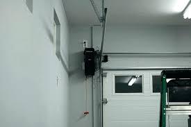 garage door opener install whisper drive garage door openers garage openers installation image of side mount garage door opener