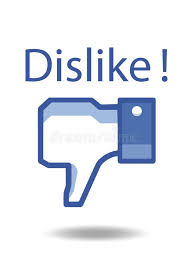 Facebook Thumbs Down Dislike! Editorial Stock Image - Illustration of  thumb, face: 112240524