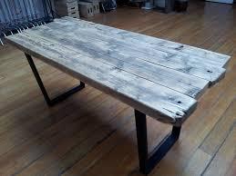 image of reclaimed wood desk tops