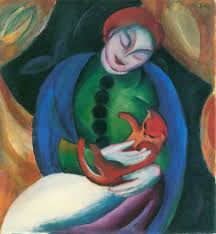 painting franz marc abstract art german painter
