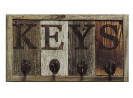 rustic wall mounted key holder key