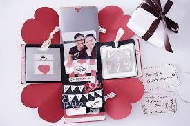 diy birthday exploding box card sweetheart surprise