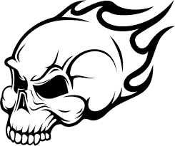 Coloring Pages Skull And Bones Coloringages Freeictures Of