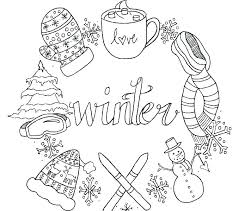 Free Printable Christmas Coloring Pages For Adults Only Coloring