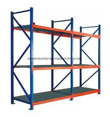 popular used industrial metal home goods shelf goods rack cargo storage racking system