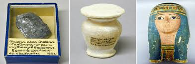 sle of galena kohl conner and mummy cartonnage ancient egypt