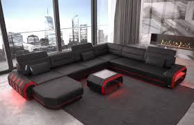 Modern Leather Sofa Brooklyn Xl Shape