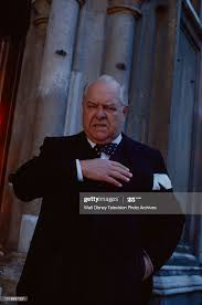 Wensley Pithey as Winston Churchill appearing in the ABC tv... News Photo -  Getty Images