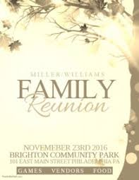 900 Customizable Design Templates For Family Reunion Postermywall