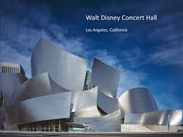 modern architecture. Walt Disney Concert HallLos Angeles, California; 33. Modern Architecture