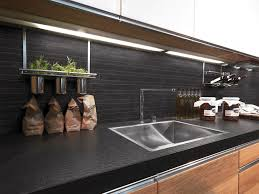 beautiful under cabinet wine glass rack in kitchen contemporary with planting under tree next to design