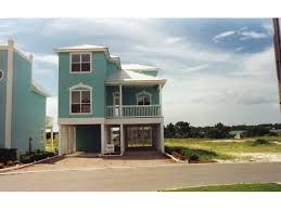 Oglethorpe Raised Beach Home Plan D    House Plans and MoreRaised Stucco Two Story Perfect For Beach Coastal Areas