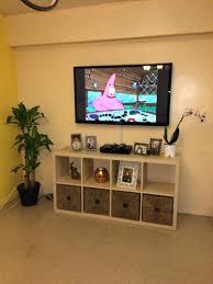 Ikea Kallax Made As A Tv Stand 77 Homemade Tv Stands For Sale Cozy Ikea  Kallax