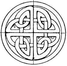 Celtic Cross Coloring Pages Printable Coloring