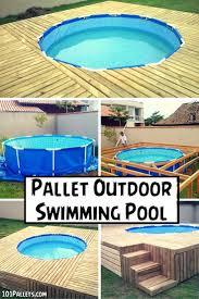 Best 25+ Diy pool ideas on Pinterest | Diy swimming pool, Backyard movie  screen and Pallet pool