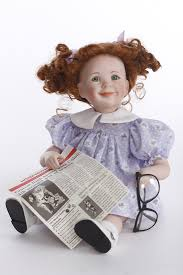 Dolls :: Collectible Dolls :: Pumpkin by Jeanne Singer