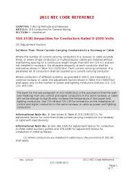 2011 nec code 310 15b3c electrical conductor cable Auxially Gutter Wiring Diagram Auxially Gutter Wiring Diagram #36