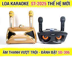 Loa bluetooth karaoke ST 2025 - Loa bass đôi - Kèm 2 micro không dây - Nghe  nhạc, karaoke cực chất - Mạnh Tiến Studio