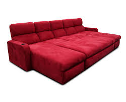 red theater chairs. Matinee PIllow Back Lounger; Center Ottoman On Casters Red Theater Chairs
