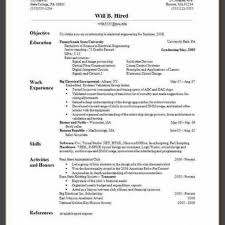 Resume How To Make Cv Example Mechanical Engineering Chemical