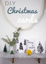 Easy How To Make Simple Monochrome Scandinavian Christmas